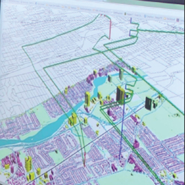 An image from GIS software