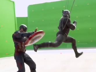 Captain America special effects