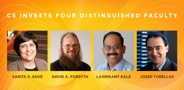 CS Invests Four Distinguished Faculty