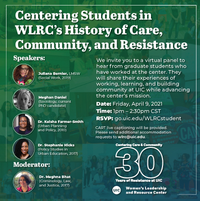 Centering Students in WLRC's History of Care, Community, and Resistance