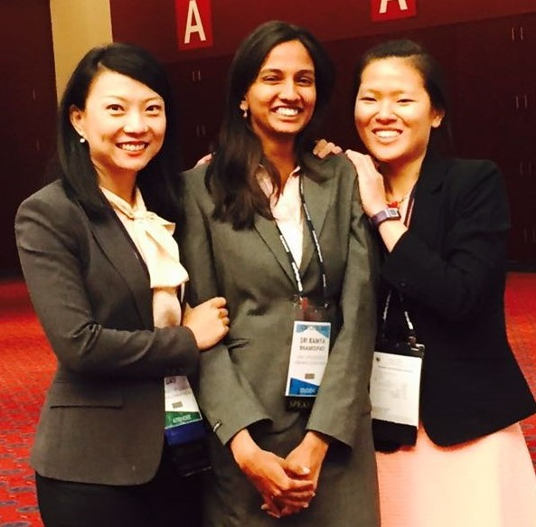 Grace Gao, Sriramya Bhamidipati, and Yuting Ng won Best Presentation of the Session Award at the ION GNSS+ conference