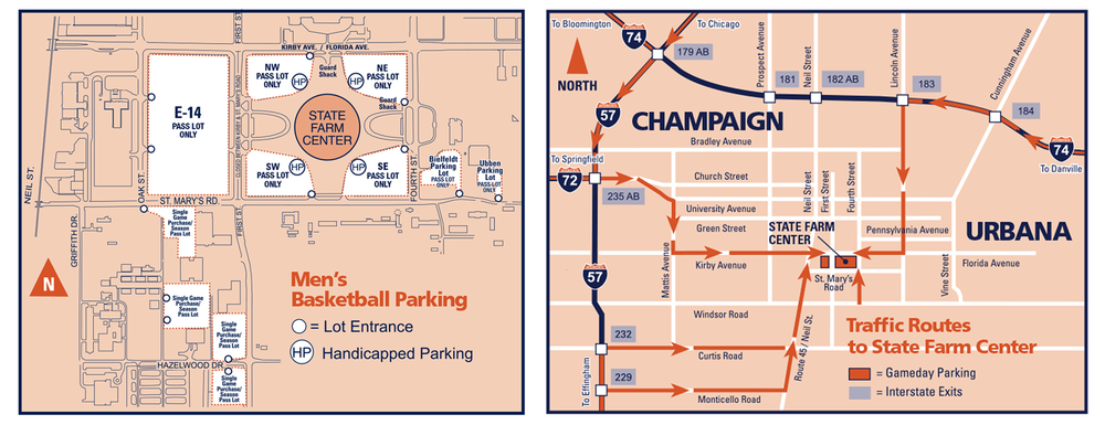 Illinois Premium Seating Gameday Guide - Ohio State on richmond parking map, xavier parking map, hofstra parking map, drake parking map, bradley parking map, memphis parking map, miami of ohio parking map, bucknell parking map, school of mines parking map, illinois state history, northern iowa parking map, nebraska parking map, coastal carolina parking map, utah parking map, gonzaga parking map, army parking map, ipfw parking map, uc irvine parking map, semo parking map, mississippi parking map,