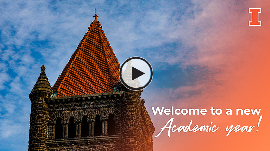 Video: Welcome to a new academic year!