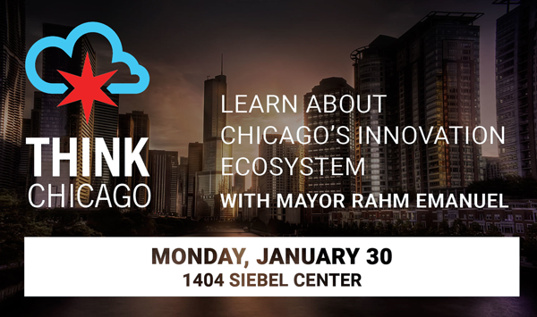 The ThinkChicago Roadshow comes to campus on January 30!