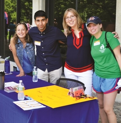 Student organizations in College offer varied networking, philanthropic, and professional opportunities