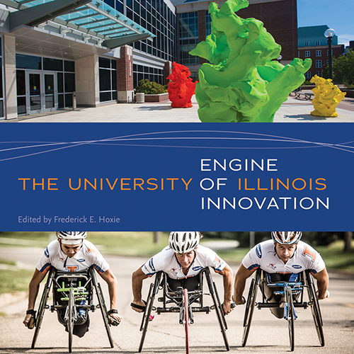 """Engine of Innovation"" book cover"