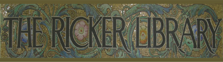 the Ricker Library mosaic