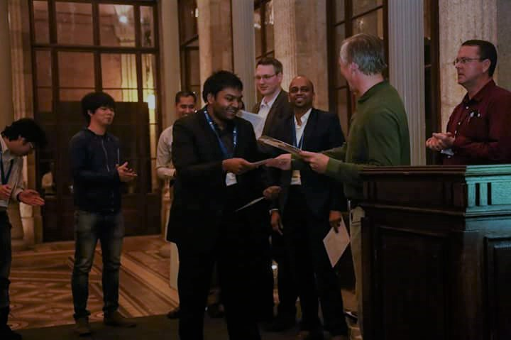 Sibin Mohan received Best Paper Award at 2016 RTSS