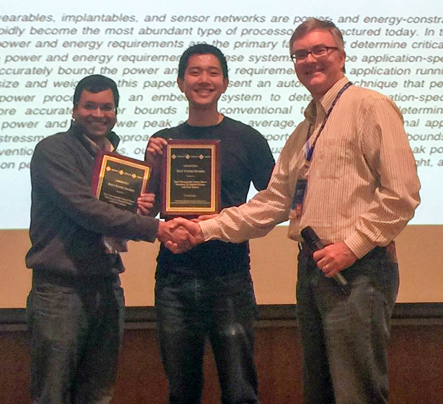 Illinois team wins Best Paper Award for processor energy efficiency research