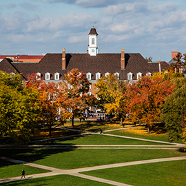 Illini Union and the Quad