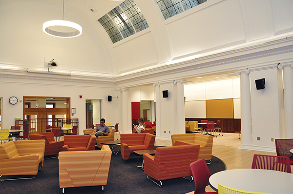 The new SESE Student Hub in the Natural History Building