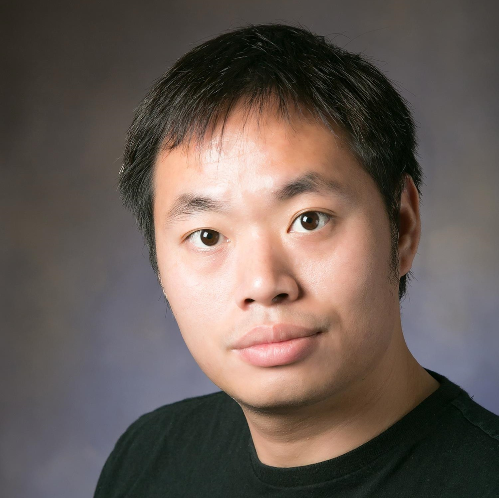 Honghui Shi, a graduate research assistant at the Beckman Institute and Coordinated Science Laboratory