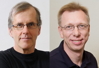 Head shots of Ralph Nuzzo and Wilfred van der Donk