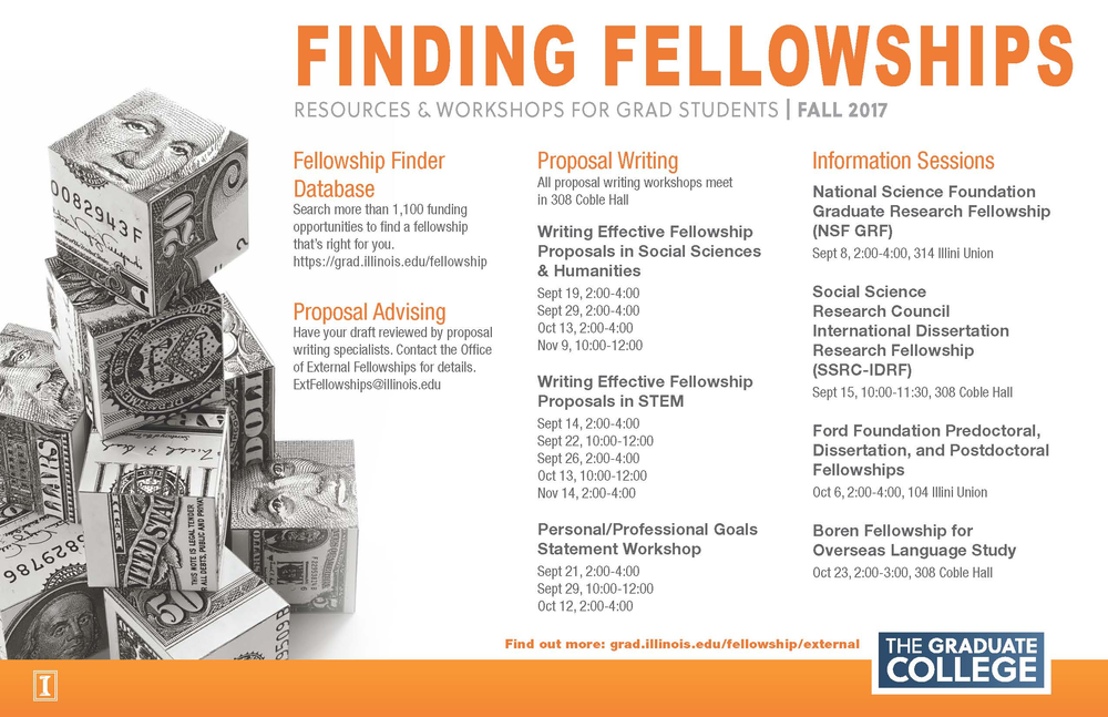 2017 Fellowship Workshop Poster