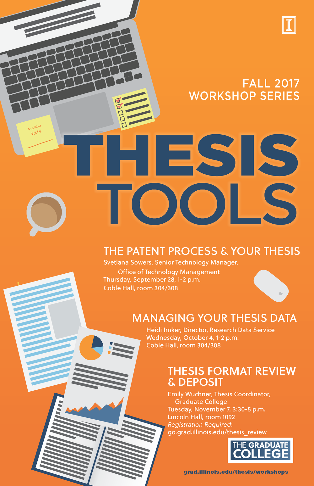 2017 Fall Thesis Tools Workshops