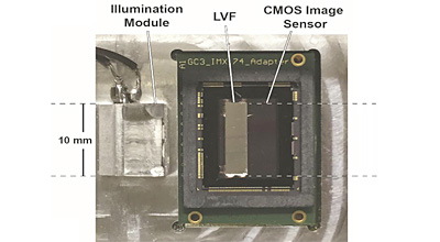 Photo of sensor used in smartphone-enabled system.