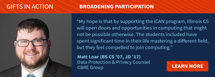 Loar's Passion for Expanding Possibilities in Computing Leads to Support of iCAN.