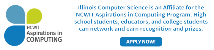 Apply now for NCWIT Aspirations!