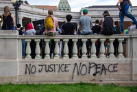 No justice no peace from Black Lives Matter protest in Denver