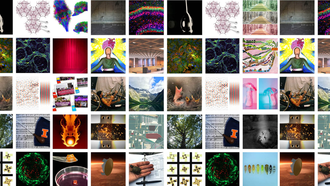 Collage of 2021 Graduate Student Image of Research submissions