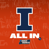 """Image of the Fighting Illini Men's Basketball """"All In"""" March Madness Facebook"""