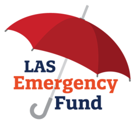 LAS Emergency Fund graphic