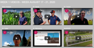 Videos available for the first digital tour of Agronomy Day 2020