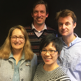 Kathryn Oberdeck, John Randolph, Bonnie Mak, and Daniel Gilbert