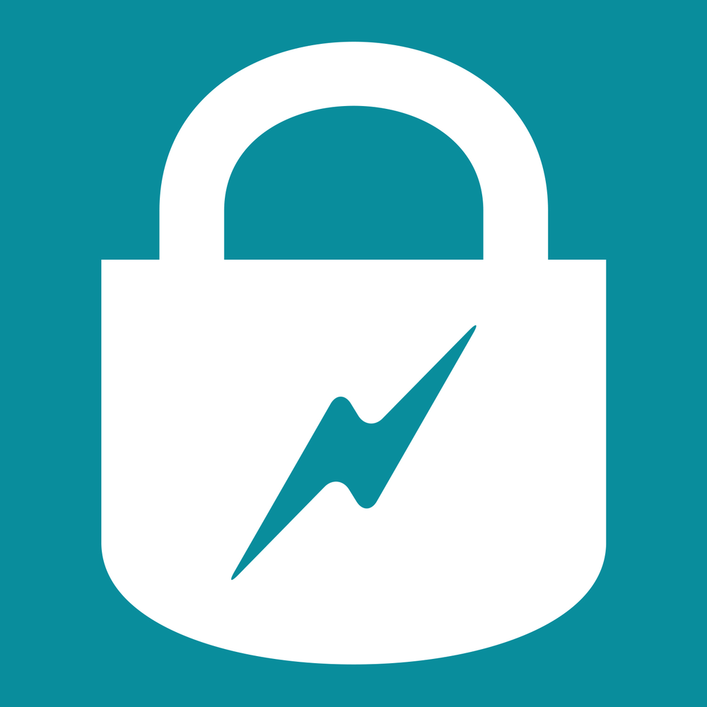 electric lock icon