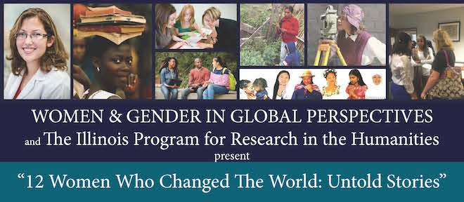 banner for the women and gender in global perspectives program