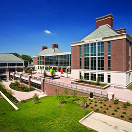 exterior of the Carl R. Woese Institute for Genomic Biology