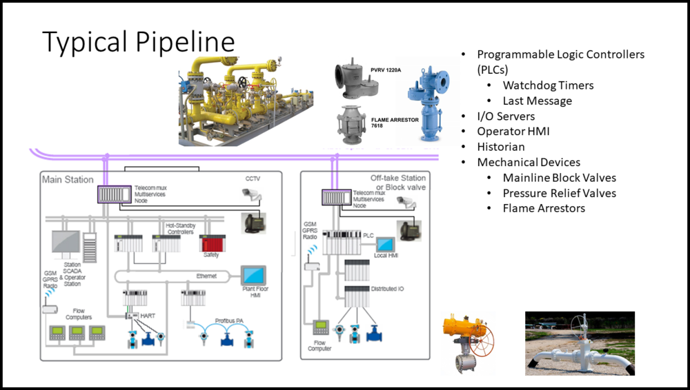"slide from Al Rivero's February 6 seminar ""Oil and Gas Pipeline Transmission Infrastructure Cybersecurity and Resiliency"""