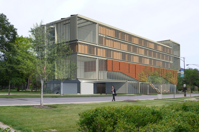 Computing, Design, Research and Learning Center Rendering
