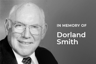 In memory of Dorland Smith
