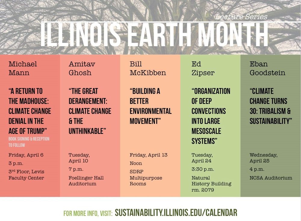 April 2018 is Illinois Earth Month