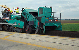 research on recycled asphalt in new road construction