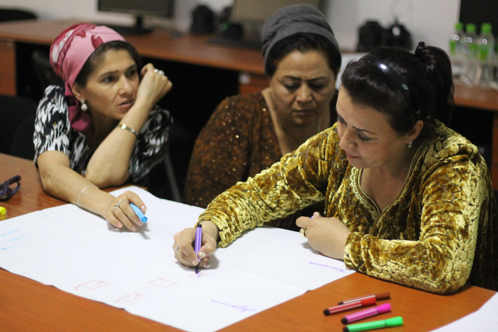 Women Participating in a Workshop