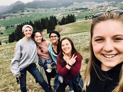 College of Education students reflect on their study-abroad trip to Verona, Italy