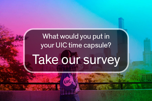 What would you put in your UIC time capsule?