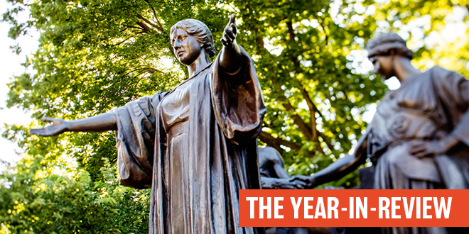 year-in-review alma mater