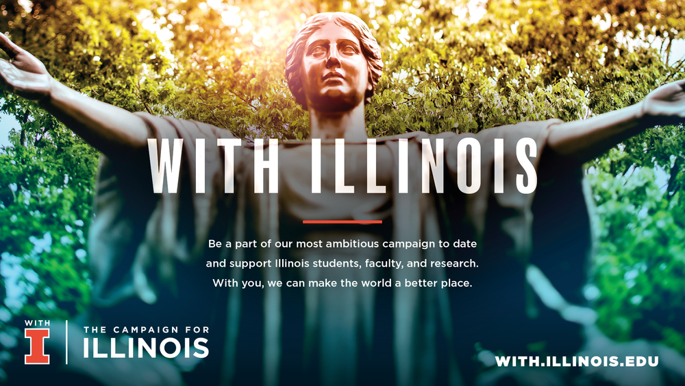 With Illinois campaign