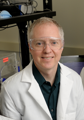 Professor Brian T. Cunningham, a Professor of Electrical & Computer Engineering and Bioengineering, and the Principal Investigator for the PROM project