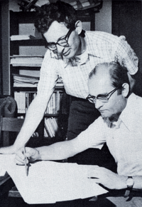 Kenneth Appel and Wolfgang Haken
