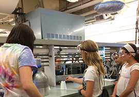 WCC daycampers learn about the Meissner effect