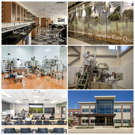 facilities open house collage