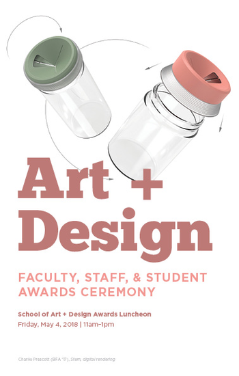 Art + Design Awards Ceremony Program
