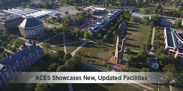 ACES showcases new, updated facilities