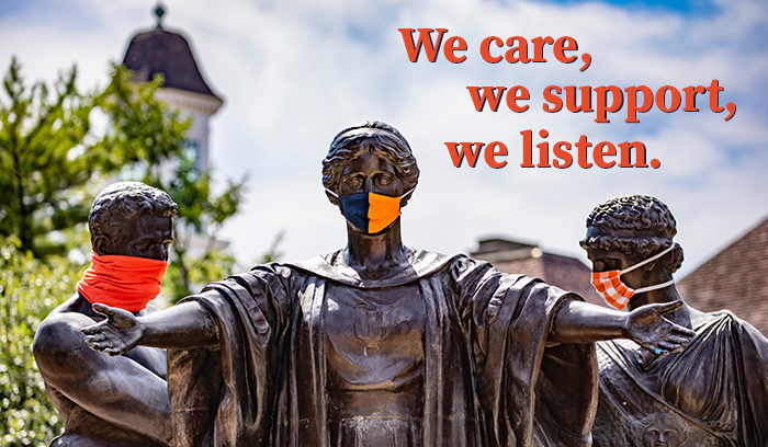 We care, we support, we listen.