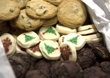 Cookies at the Clearinghouse at Children's Research Center
