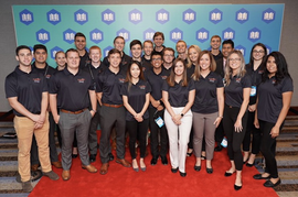 Financial Planning Students at FPA National Conference